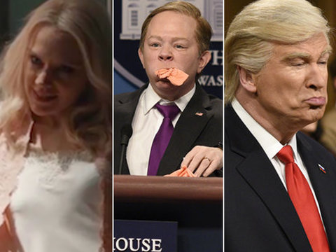 Kellyanne Conway Goes 'Fatal Attraction,' McCarthy Returns -- 5 Must-Watch 'SNL' Skits…