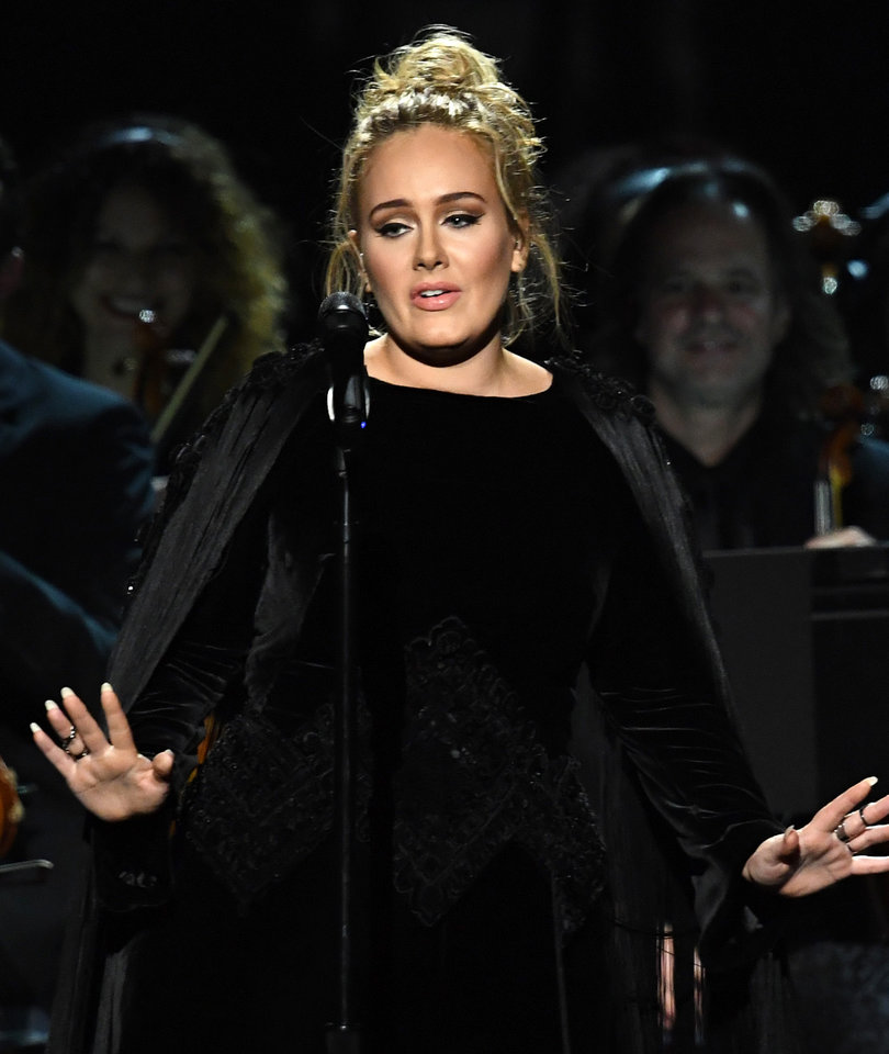 Adele Drops F-Bomb During George Michael Tribute Then Apologizes Profusely for…