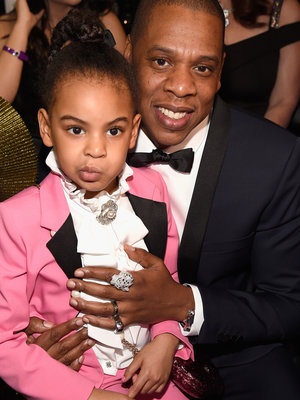 These Pictures Prove Blue Ivy Had the Most Fun at the Grammys (Photos)
