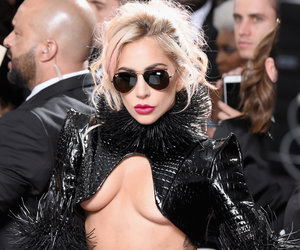 Lady Gaga Debuts Massive Metallica Back Tattoo on Grammys Red Carpet (Video)
