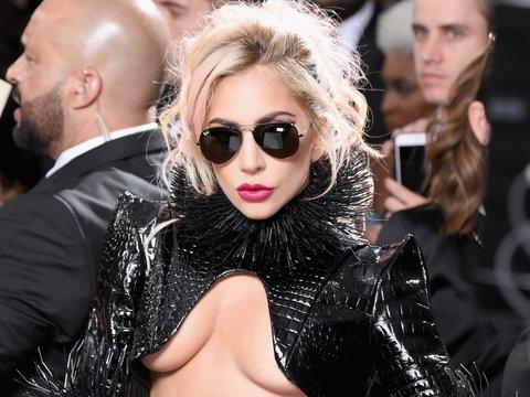 Lady Gaga Debuts Massive Metallica Back Tattoo on Grammys Red Carpet (Video)