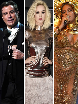 Best, Worst, Weirdest, Awkward! TooFab's 7 Grammy Superlatives, 7 Unforgettable Red Carpet Moments: