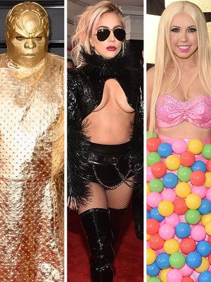 What's Happening Here? See the Most WTF Fashion from the Grammy Awards (Photos)