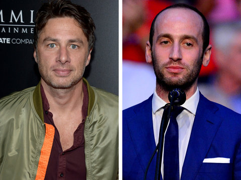 Zach Braff Is Willing to Shave His Head to Play Trump Advisor Stephen Miller on 'SNL'