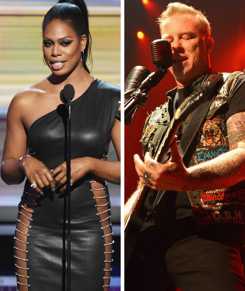 Laverne Cox Is 'So Sorry' for Forgetting to Introduce Metallica With Lady Gaga…
