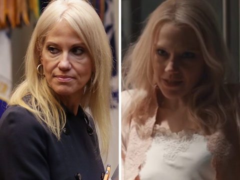 Kellyanne Conway Blasts SNL Over Her Portrayal in 'Fatal Attraction' Skit (Video)