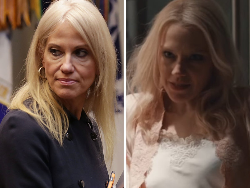 Kellyanne Conway Blasts 'SNL' Over Her Portrayal in 'Fatal Attraction' Skit (Video)