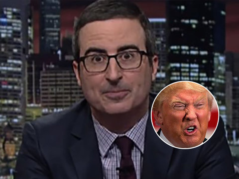 John Oliver Bashes 'Dangerous' Trump for Relying on Real 'Fake News' to Create His Own…