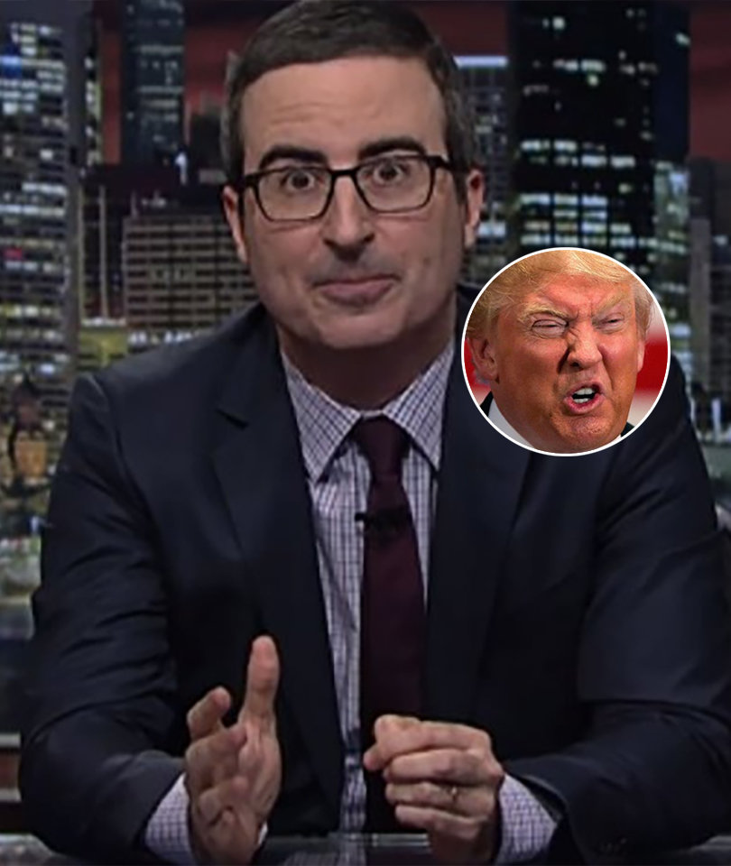 John Oliver Bashes 'Dangerous' Trump for Relying on Real 'Fake News' to Create…