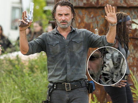 'Walking Dead' Trailer Teases Mysterious New Group and the Freakiest Zombie Ever (Video)