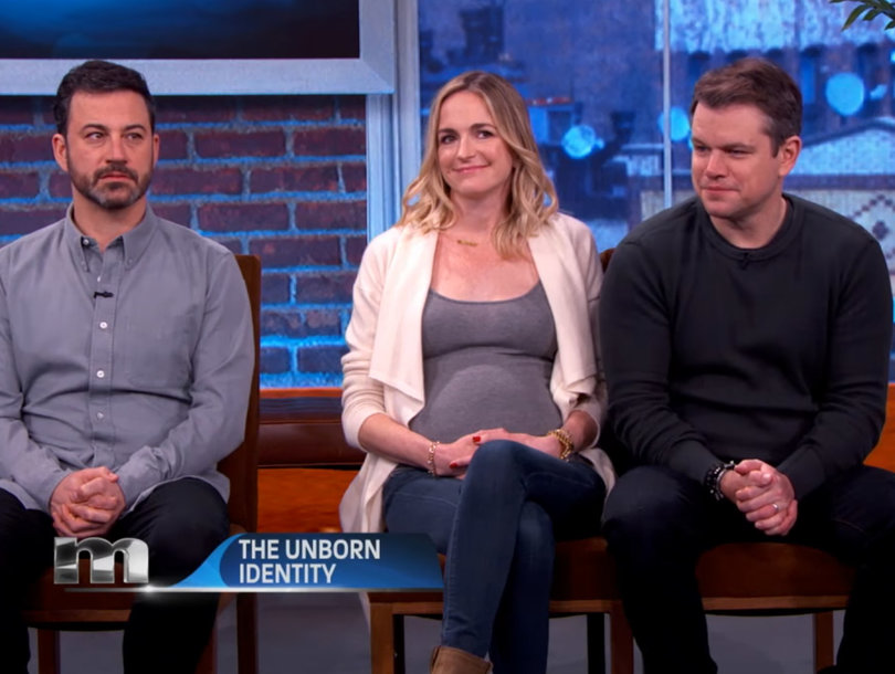 Matt Damon Is 'F--king' Jimmy Kimmel's Wife: Frenemies Battle Over Unborn Baby on 'Maury' (Video)