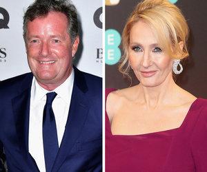 Piers Morgan Tells JK Rowling to 'Shut Up' on Fox News