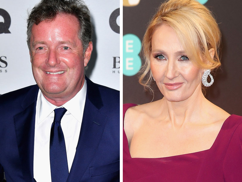Piers Morgan Tells JK Rowling to 'Shut Up' on Fox News