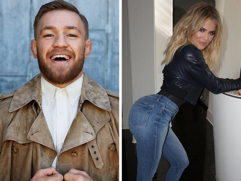 Why UFC Star Conor McGregor Is on the Hunt for Khloe Kardashian's 'Big Fat Ass'