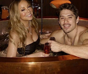 Mariah Carey Spent Valentine's Day In a Hot Tub with Bryan Tanaka