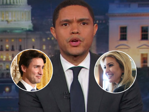 Trevor Noah Also Noticed Ivanka Trump Has the Hots for 'Finest World Leader' Justin…