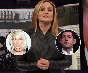 Samantha Bee Breaks Down Why Paul Ryan and Taylor Swift Are More Alike Than You Think…