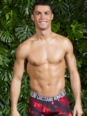 See Cristiano Ronaldo Model His New Underwear Collection (Photos)