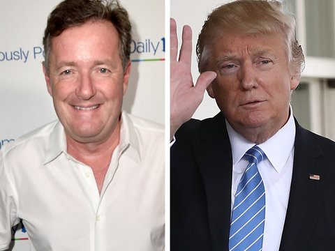 Piers Morgan Blasts New York Times for 'Un-American' Coverage of Donald Trump (Video)