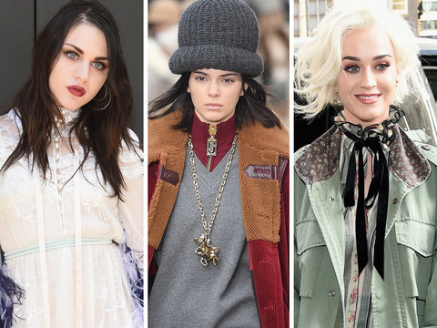 Frances Bean, Kendall Jenner and Katy Perry Attend Marc Jacobs Fashion Show at NYFW…