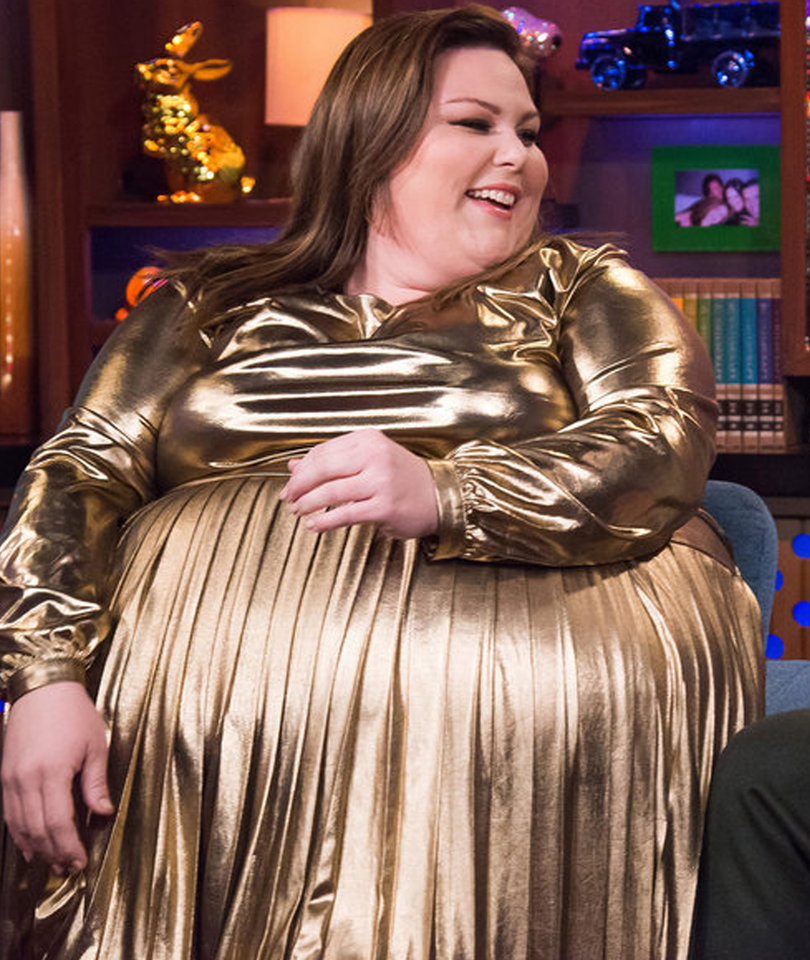 How Chrissy Metz Feels About 'This Is Us' Co-Star Wearing a Fat Suit (Video)