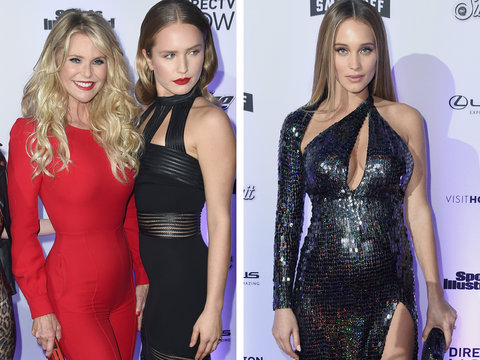 Sports Illustrated Swimsuit Models Hit Red Carpet for New Issue Launch (Photos)