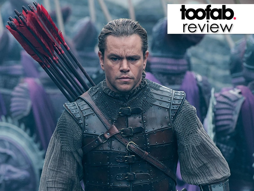 Matt Damon's Man Bun Is the Most Original Part of 'The Great Wall' Snoozapalooza: TooFab Review
