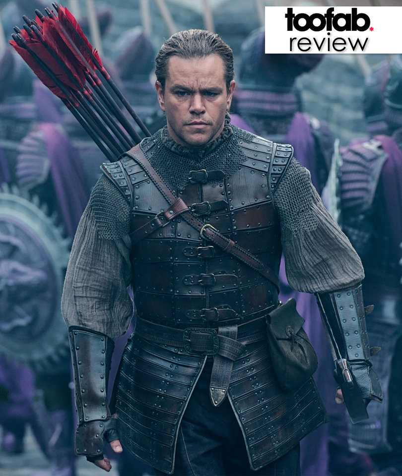 Matt Damon's Man Bun Is the Most Original Part of 'The Great Wall'…