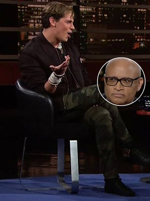 Milo Yiannopoulos Skewered by Bill Maher and Larry Wilmore on 'Real Time' (Video)