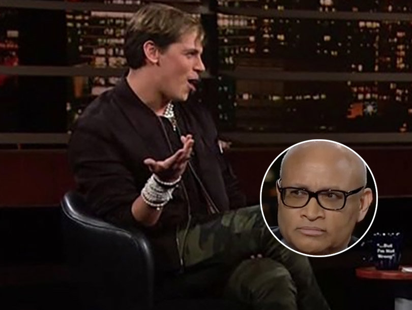 Milo Yiannopoulos Skewered by Bill Maher and Larry Wilmore on 'Real Time'…