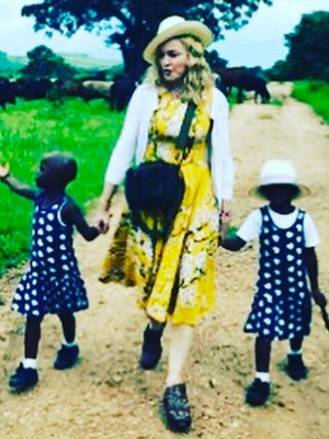 Madonna Shares Video Featuring Newly-Adopted Twins Singing 'Twinkle, Twinkle Little Star'…
