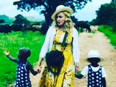 Madonna Shares Video Featuring Newly-Adopted Twins Singing 'Twinkle, Twinkle Little Star' (Video)