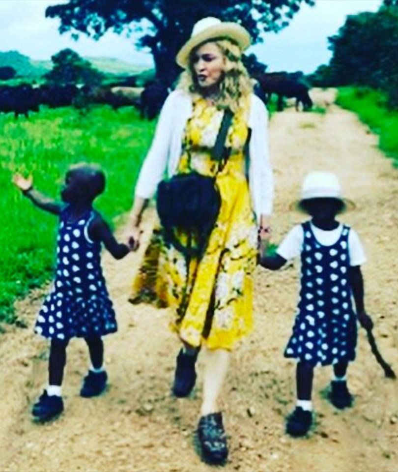 Madonna Shares Video Featuring Newly-Adopted Twins Singing 'Twinkle, Twinkle…