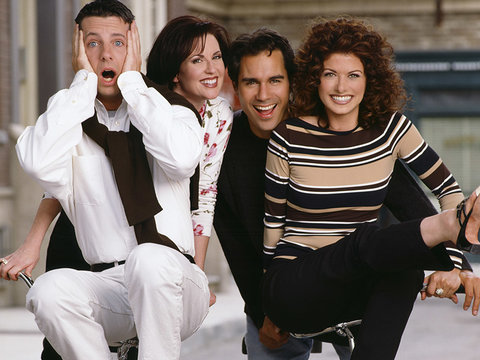 The 'Will & Grace' Cast Reunite for Lunch Ahead of Series Reboot (Photos)