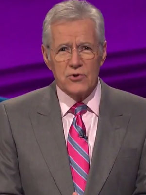 Alex Trebek Spits Drake, Kanye West Lyrics Out in Best 'Jeopardy' Category Ever: 'Let's…