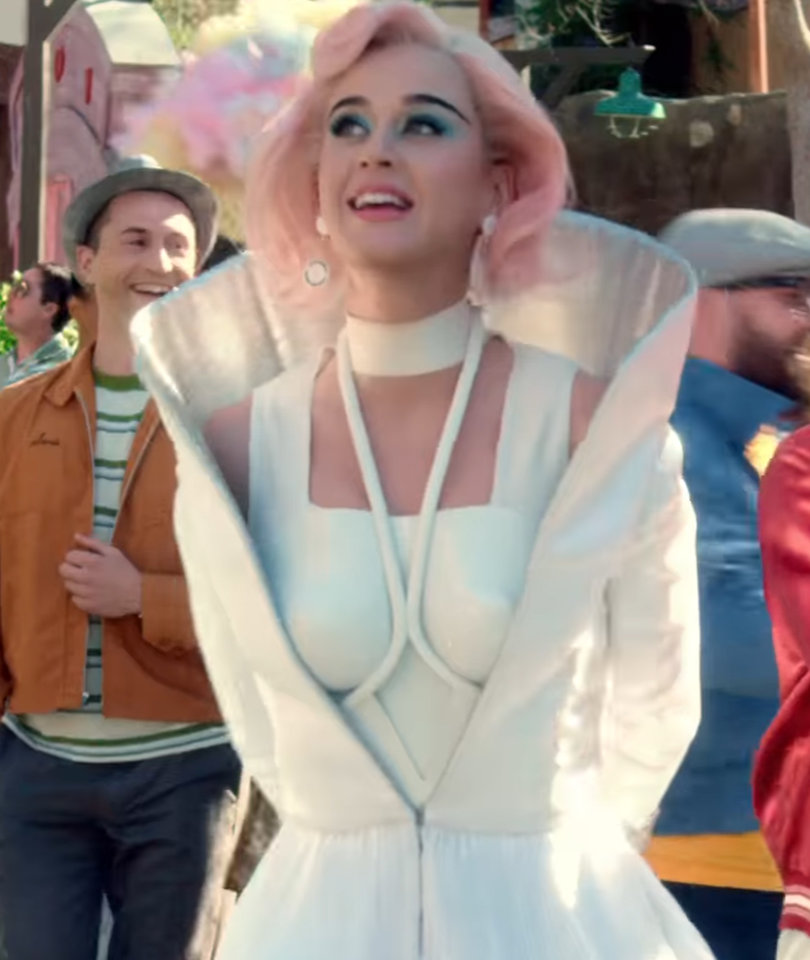 'The Jetsons' Meets 'Hunger Games' in Katy Perry's Dystopian 'Chained to the…