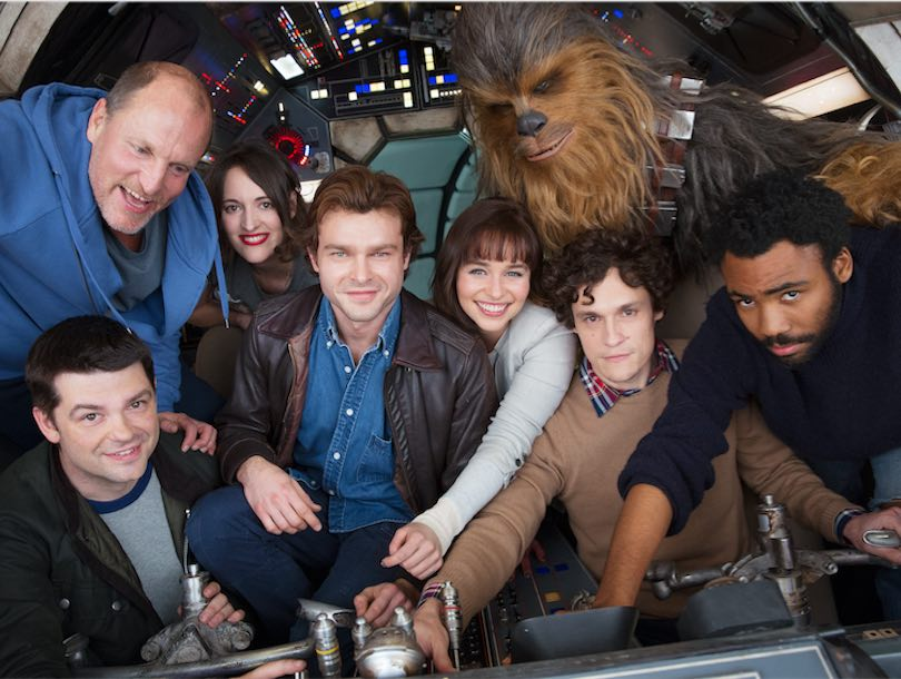Star Wars Han Solo Spinoff First Photo Chewbacca