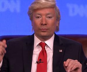 Jimmy Fallon Imagines 'Trump News Network' - Full of Fake News and Betsy DeVos…