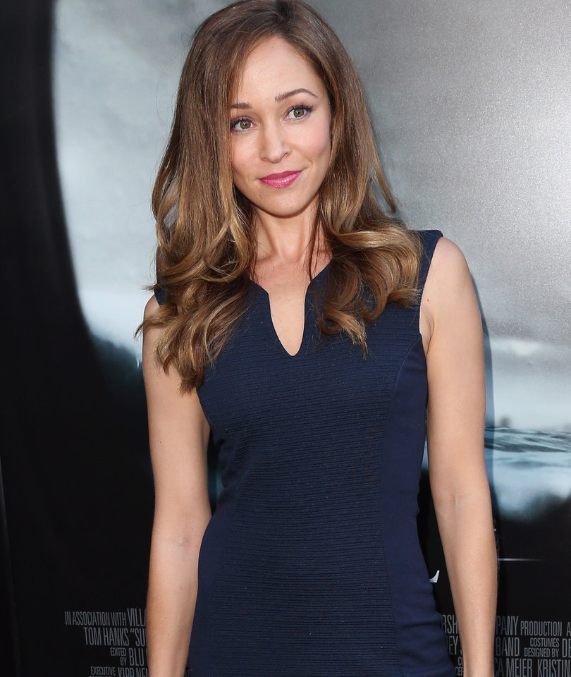 Why 'The Arrangement' Star Autumn Reeser Is Having Fun Playing 'Big Belly'…