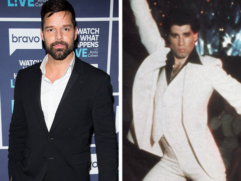 How John Travolta Made Ricky Martin Realize He Was Gay (Video)