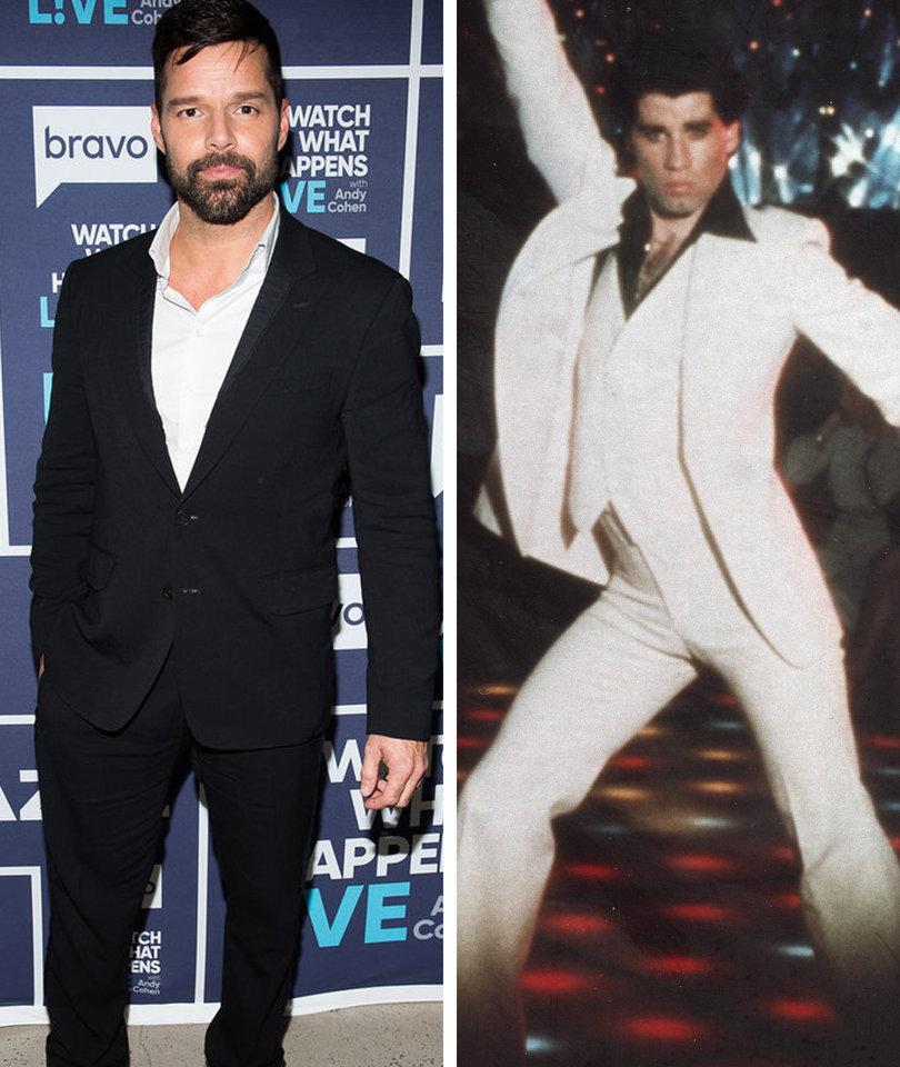 How John Travolta Made Ricky Martin Realize He Was Gay