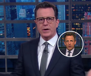 Stephen Colbert, Seth Meyers Skewer Trump for Rolling Back Transgender…