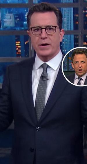 Stephen Colbert, Seth Meyers Skewer Trump for Rolling Back Transgender Students' Bathroom Protections (Video)