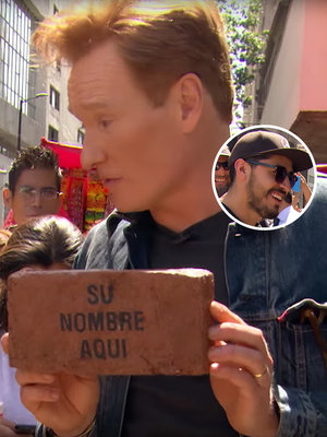 Conan Asks Mexican Citizens to Pay for Trump's Wall - Watch Their Priceless Reactions (Video)