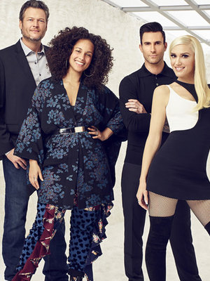 TLC's 'Waterfall' Gets 'Voice' Makeover! Watch Gwen Stefani, Alicia Keys, Adam Levine and…