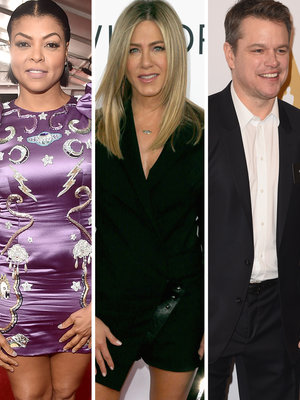 See Who's Presenting at the Oscars: Aniston, Damon and More (Photos)