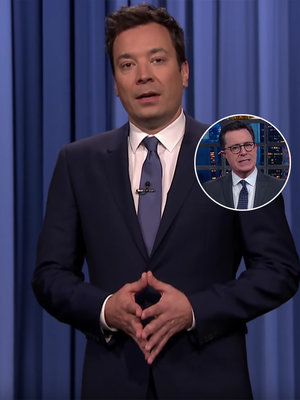 Stephen Colbert and Jimmy Fallon Skewer Donald Trump for His Inability to Speak (Video)