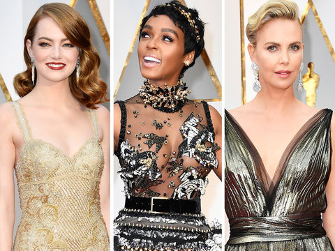 See All the Oscars Red Carpet Fashion