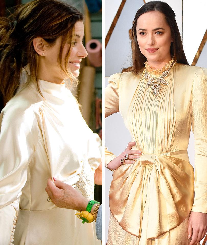 Did Dakota Johnson Steal Sandra Bullock's Wedding Dress From 'The Proposal'?