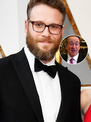 Seth Rogen Trolls Mike Huckabee for Crappy Oscars 'Colonoscopy' Joke That No One Really…